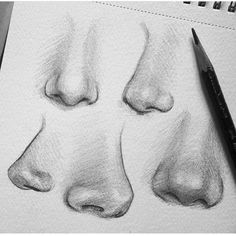 Sketches nose Drawing a nose doesn't have to difficult Drawing a nose doesn't have to difficult Art Drawings Sketches, Cool Drawings, Pencil Drawings, Sketch Drawing, Drawing Ideas, Drawing Tips, Pencil Art, Drawing Tutorials, Drawing Art