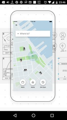 App Ui, User Experience, Uber, User Interface, App Design, Maps, Layout, Blue Prints, Page Layout