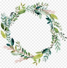 leaves vector ring - floral wreath clip art PNG image with transparent background png - Free PNG Images