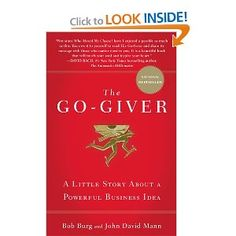 A story of changing focus from getting to giving, and how it can lead to unexpected favorable outcomes.