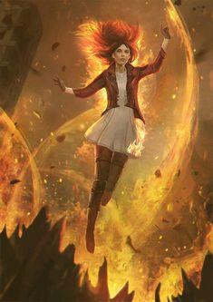 Drawing Ideas Heles Howlett by GerryArthur - Fantasy Inspiration, Character Inspiration, Character Art, Fantasy Warrior, Fantasy Artwork, Fantasy Characters, Novel Characters, Dark Fantasy, Art Girl