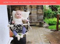 DIY kids outdoors | Indoor / Outdoor Kids Swing DIY » Curbly | DIY Design Community