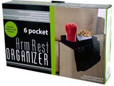 arm rest organizer