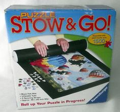 Never have your puzzles ruined again with this Stow & Go puzzle carrier! Order today from #BienleinDesignFinds on #eBay: http://stores.ebay.com/BienleinDesign-Finds?refid=store #Puzzles #Games #Travel