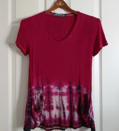 Sydney Top in Strawberry by Artful Sister.  Made in America.