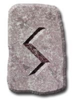 Sowilo = sun. Prosparity and health. The positive influence of this rune heals you and centers you