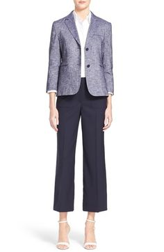 purrrrrr...Theory..... order a size up with them.  Theory Blazer, Blouse & Trousers available at #Nordstrom