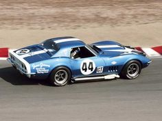 James Garner AIR Racing Team 1968 L-88 Corvette 'Racer. What could be cooler than owning James Garner's old race car...especially an L-88 Corvette!