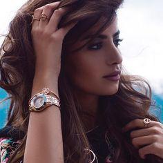 Rose Tone Riot. Dubai-based style maven @olafarahat shot by @zanitazanita, rocks the Fall/Winter Collection from #Swarovski. Love the look; shop it now via our profile link or discover more at swarovski.com/bebrilliant