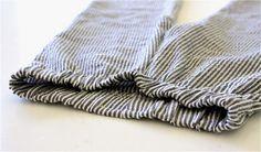 מכנסי ילדים - הדרכה בסיסית ובתוכה קישורים לגזרות מורכבות יותר, מתאים למידה 2-3