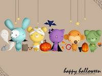 Halloween - Brushes, Miniaturas, Icones e Wallpapers