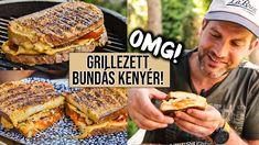 OMG! Grillezett BUNDÁS KENYÉR fűszeres sertésszűzzel 🔥 French Toast, Breakfast, Street, Food, Kitchen, Cuisine, Meal, Eten, Home Kitchens