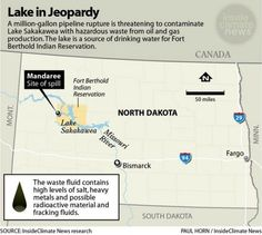 'Saltwater' From North Dakota Fracking Spill Is Not What's Found in the Ocean | InsideClimate News