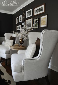 Home Decor Habitacion at home with dear lillie summer home tour with jenni New Living Room, Formal Living Rooms, Living Room Chairs, Home And Living, Living Room Furniture, Living Room Decor, Small Sitting Rooms, Sitting Area, Dear Lillie