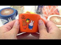 cute orange Miffy bunny rabbit coffee mug squishy for  backpack - Food Squishies - Squishies - kawaii shop modeS4u