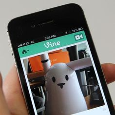 Twitter launched Vine on Thursday -- an app that lets you share 6-second video clips.