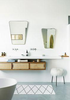 A Designer Bathroom