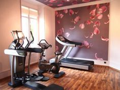 Home Exercise Room Ideas Small Spaces Gym Design - Coolest Home Exercise Room Ideas Small Spaces Gym Design, Interior Designs Alluring Home Workout Room Ideas with Stylish Home Gym Set, Small Home Gyms, Best Home Gym, Workout Room Home, Workout Rooms, At Home Workouts, Exercise Rooms, Workout Routines, Workout Ideas