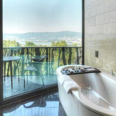 Bath with a view...