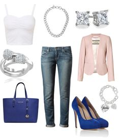 What to wear to a denim & diamonds party