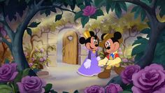 "Disney ""The Three Musketeers"" 1993 Mickey & Minnie Mouse ""Sweet Wings of Love"""