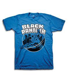 Black Panther Tee - Mens Regular | zulily