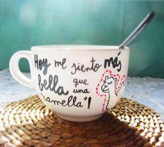 Taza para amigas bellas. SHOP ONLINE: WWW.MOS-TAZA.COM