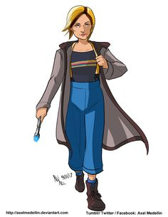 The Thirteenth Doctor - Axel Medellin