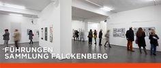 In der Ausstellung »Philip Guston – Das große Spätwerk«, 2014. Foto: Henning Rogge / Deichtorhallen