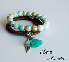 Armband set Turquoise  sensation