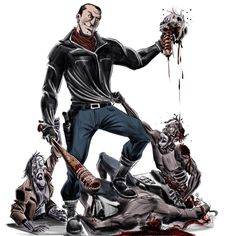 very inspired from his comic book version, and by the awesome trailer of the next season! Walking Dead Tv Series, The Walking Dead Tv, Mafia, Negan Lucille, Jeffrey Dean, Image Comics, Movie Props, The Next, Jdm