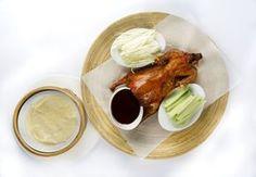 El pato laqueado es un plato antiquísimo y tradicional de China. Restaurante Asia Gallery. Madrid.