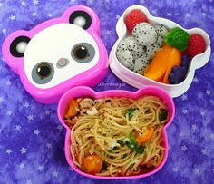 Crab Linguine Bento   What kid doesn't love pasta? Toss with…   Flickr