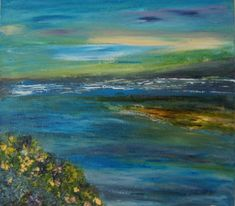 TH17 acrylic seascape Landscape, Painting, Art, Craft Art, Paintings, Kunst, Gcse Art, Draw, Drawings