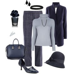 """""""Blue"""" by dmiddleton on Polyvore"""