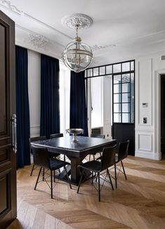 31 Of The Most Brilliant Modern Dining Table Design Ideas - Cozy Decoration Dining Room Inspiration, Interior Design Inspiration, Home Interior Design, Interior Architecture, Interior Decorating, Decorating Ideas, Room Interior, Dining Table Design, Modern Dining Table