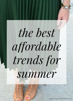 The best affordable trends for summer