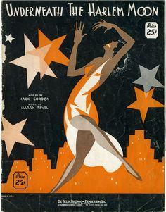 Jazz in Harlem. Great artwork. Good graphic.