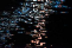 Mosaic Blue Brown Background