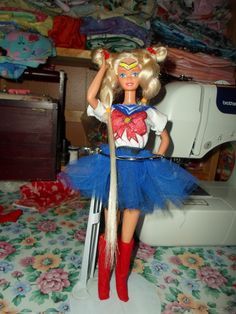 i am proud of my new sailor moon barbie