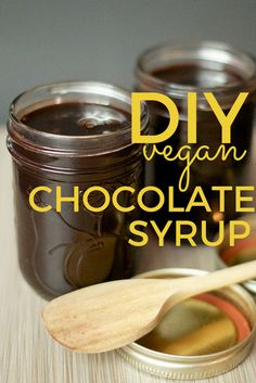 "DIY vegan chocolate syrup. Perfect for ice ""cream"", chocolate ""milk"", crepes, and mochas. The best part? You won't find any artificial flavours, added thickeners, or dyes in this recipe."