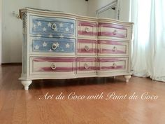 Old Glory dresser