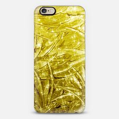 """""""Fairy Dust - Gold"""" by Artist Julia Di Sano, Ebi Emporium on @casetify  Fine Art Abstract Acrylic Painting Elegant Yellow Gold Ombre Ocean Waves Feathers Sparkle Feminine Girly Design Colorful iPhone Samsung Tech Device Case #art #fineart #gold #metallic #feathers #ocean #ombre #painting #techdevice #tech #iPhonecase #iPhone4 #iPhone5 #iPhone6 #chic #cellphone #cover #case Get $10 off using code: 5K7VFT"""