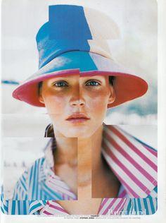 Carmen Kass by Peggy Sirota for Vogue Paris