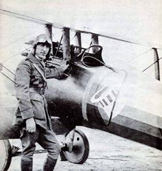 World War I Air Ace Eddie Rickenbacker, 94th Fighter Squadron