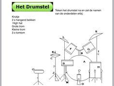 Opdracht  drumstel Children Music, Music For Kids