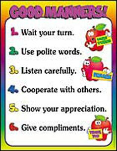 43 Best Good Mannersrespectkindness Images Good Manners Inspire