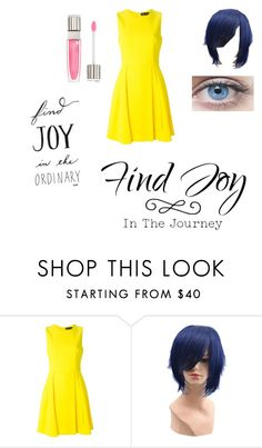 """Joy"" by ahriraine ❤ liked on Polyvore featuring Versace and Lancôme"