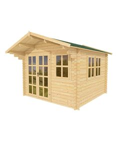 Build a cozy garden shed with this all-inslusive package that boasts Brighton Garden's 20 years of superior craftsmanship coupled with durable Norway spruce lumber. Large windows illuminate the interior, lighting up your little one's new playhouse or your personal craft workshop.Includes shed materials and manual10' W x 10' HNorway spruce / plexiglassAssembly requiredAll-natural materialsCustomers must be present for deliveryCustomers will need to unload pallets manually from delivery…