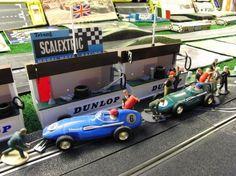 I had those pits! Slot Car Racing, Slot Car Tracks, Slot Cars, Rc Cars, Stingrays, Kids Growing Up, E Type, Old Toys, Toys For Boys